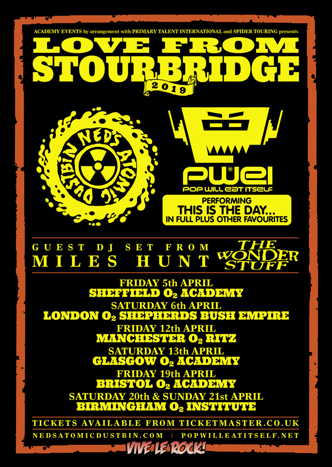 Love From Stourbridge tour poster